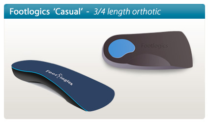 Footlogics Casual orthotics