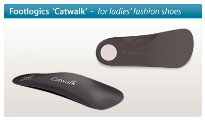 Footlogics Catwalk orthotics