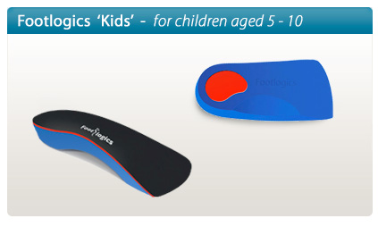 Footlogics Kids orthotics